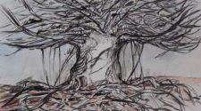 Canım Kızım Ada, Kağıt Üzerine Karışık Teknik, 30-42 cm, 2013