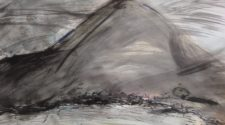 Göztepe, Kağıt Üzerine Karışık Teknik, 24-32 cm, 2012