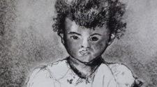 Küçük Kız, Kağıt Üzerine Mürekkep, 35-50 cm, 2012