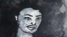Oyalı Kadın, Kağıt Üzerine Mürekkep, 30-40 cm, 2012