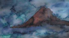 Gece ve Sis, Kağıt Üzerine Mürekkep, 30-40 cm, 2013