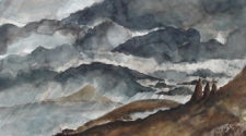 Gökkuşağı, Kağıt Üzerine Mürekkep, 35-50 cm, 2013