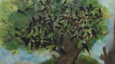 Hayat Ağacı, Kağıt Üzerine SuluBoya, 36-48 cm,2013