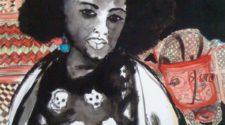 Natalie, Kağıt Üzerine Mürekkep, 65-50 cm, 2013